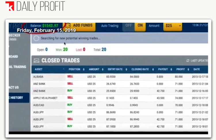 1K Daily Profit Software Login