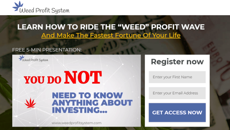 Weed Profit System Review Analysis